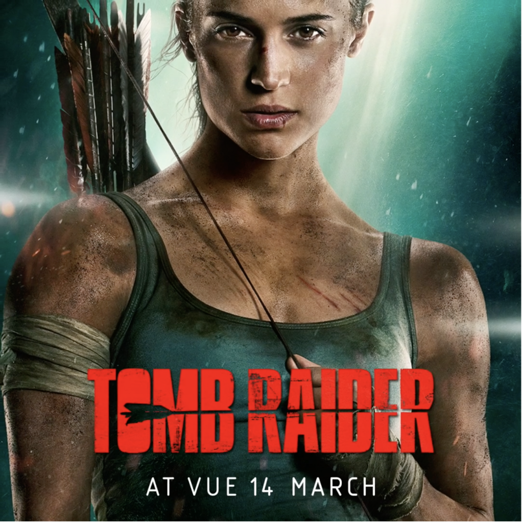 VUE Tomb Raider Red Carpet